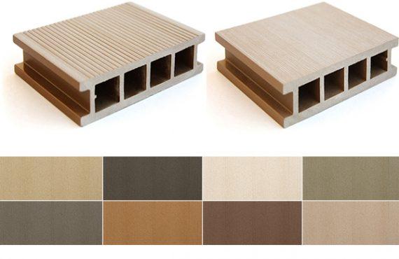Exterza Terrasplanken in houtcomposiet _ Kleuren voorbeelden